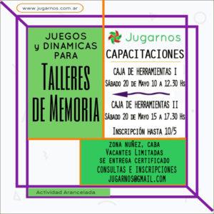 Flyer Caja de Herramientas I y II MAYO