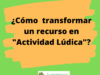 Actividad Lúdica audiovisual